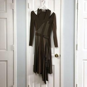 Stella McCartney Olive Jersey dress sz 0